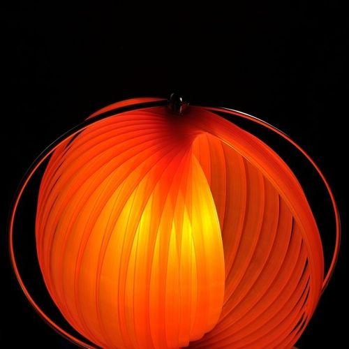 Tischlampe BOLA Orange 42cm Höhe - 2