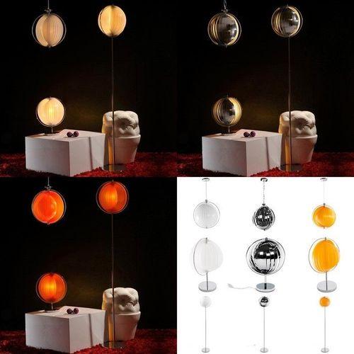 Tischlampe BOLA Orange 42cm Höhe - 4