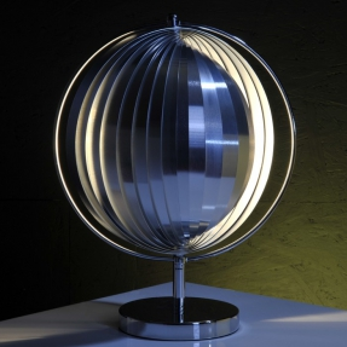 Tischlampe BOLA Chrom 42cm Höhe - 1