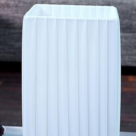 Tischlampe LOOP Weiß eckig 58cm Höhe - 3