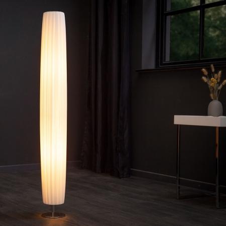 Stehlampe LOOP Weiß Rund 120cm Höhe - 1