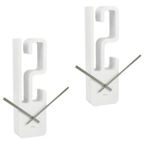 Wanduhr 12 Weiß 39cm - 2