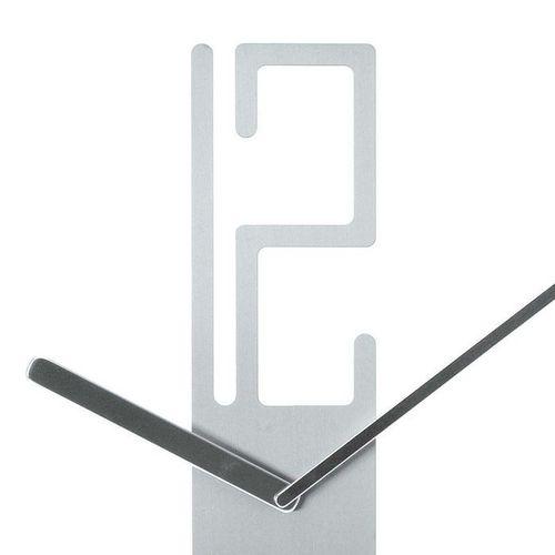 Wanduhr 6-12 Aluminium 50cm - 2