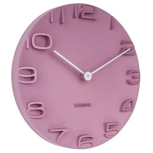 Wanduhr ROCK Pink 42cm Ø - 1