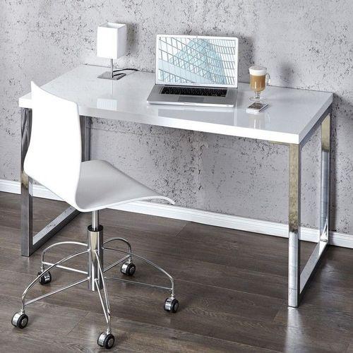 Schreibtisch OXFORD Weiß Hochglanz 120cm x 60cm - 1