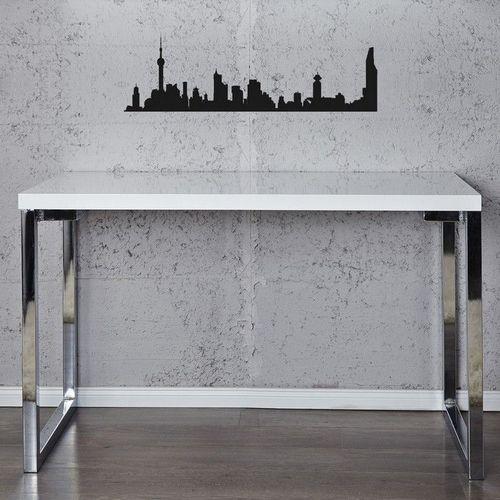 Schreibtisch OXFORD Weiß Hochglanz 120cm - 2