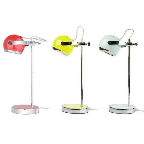 Retro Tischlampe MIMI Chrom 35cm Höhe - 4