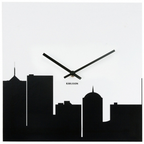 design wanduhr new york skyline 105cm l nge cag onlineshop designerm bel versandkostenfrei kaufen. Black Bedroom Furniture Sets. Home Design Ideas
