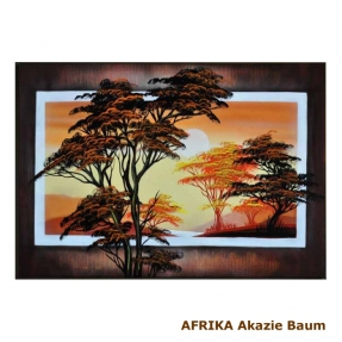 4 Leinwandbilder AFRIKA Frau (2) 100 x 70cm Handgemalt - 3