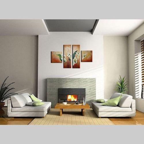 4 Leinwandbilder CALLAS (2) 100 x 60cm Handgemalt - 2