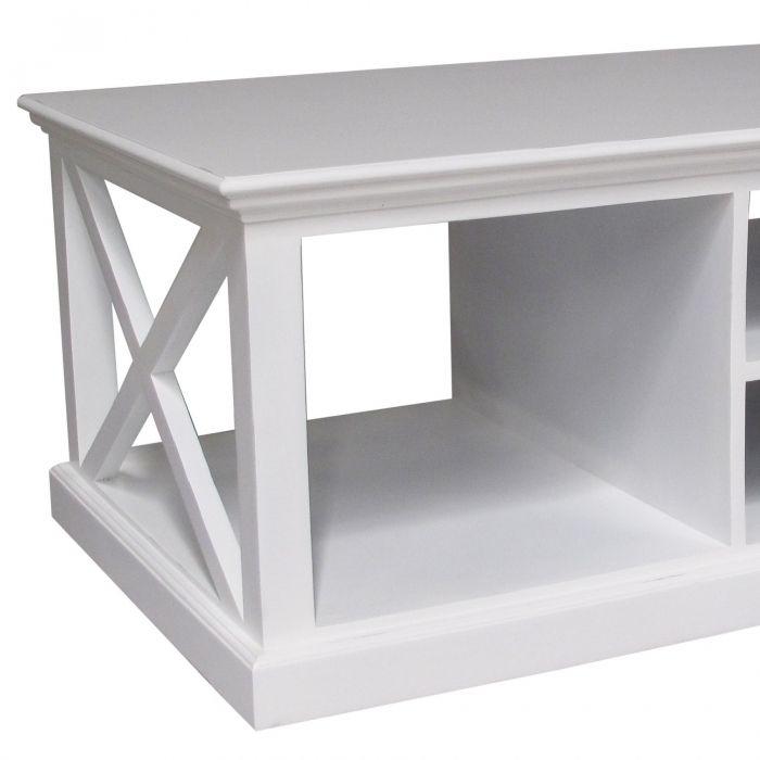 couchtisch josephine antik weiss 120 x 50cm aus mahagoni im landhausstil neu. Black Bedroom Furniture Sets. Home Design Ideas