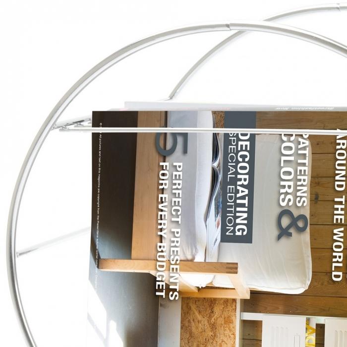Zeitungsständer Schwarz Holz ~ preview