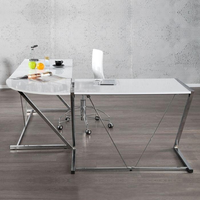 xl schreibtisch eckschreibtisch brooklyn schwarz glas. Black Bedroom Furniture Sets. Home Design Ideas
