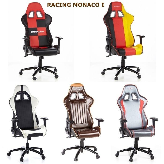 Bürostuhl weiß braun  Bürostuhl RACING MONACO II Schwarz-Braun PORTOFREI kaufen cagü ...