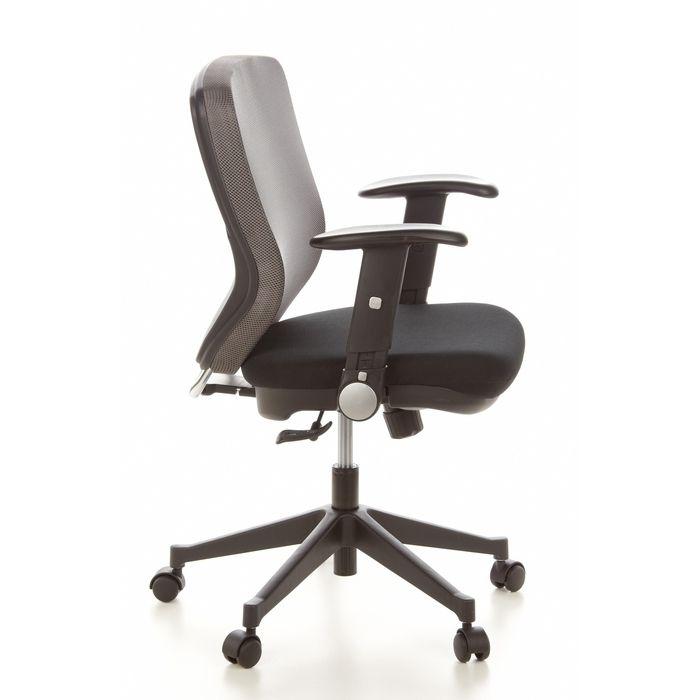 design b rostuhl sofia schwarz grau portofrei online. Black Bedroom Furniture Sets. Home Design Ideas