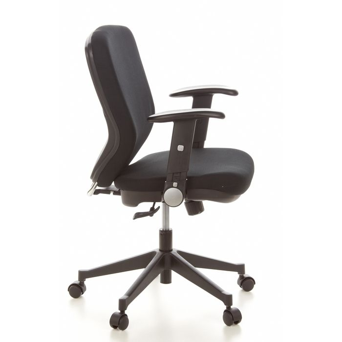 b rostuhl stockholm schwarz portofrei g nstig online. Black Bedroom Furniture Sets. Home Design Ideas