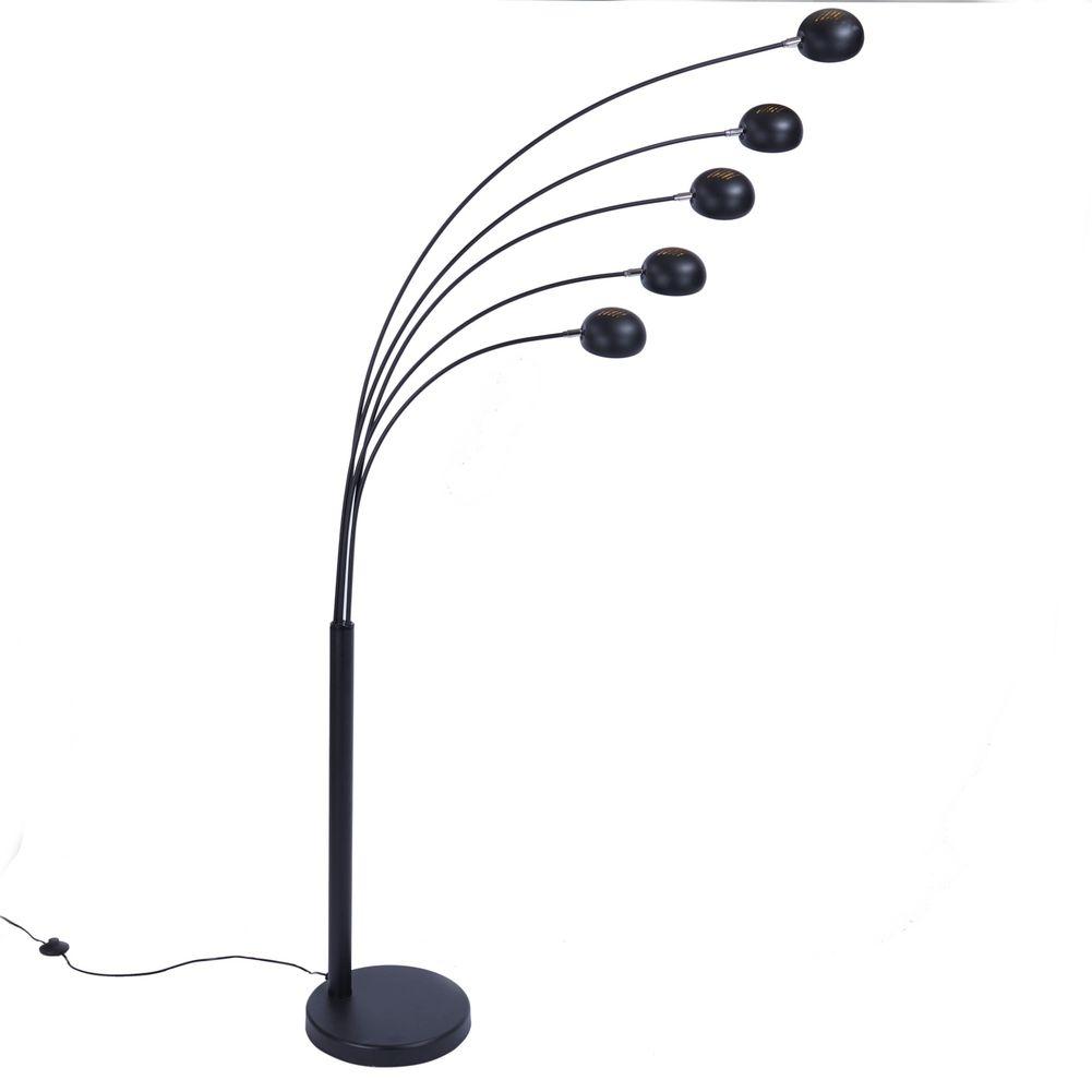 design stehlampe tulipa schwarz gold 205cm h he portofrei g nstig online bestellen cag. Black Bedroom Furniture Sets. Home Design Ideas