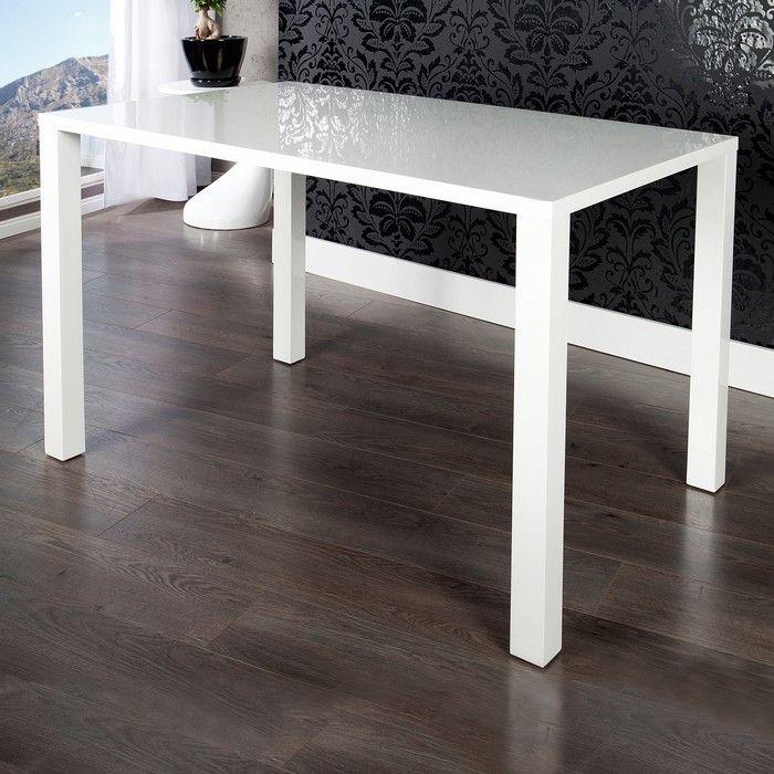 esstisch lucia wei hochglanz 140cm portofrei g nstig kaufen cag design m bel onlineshop. Black Bedroom Furniture Sets. Home Design Ideas