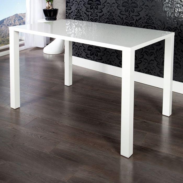 Designer esstisch lucia weiss hochglanz high gloss 140cm for Designer esstisch ebay