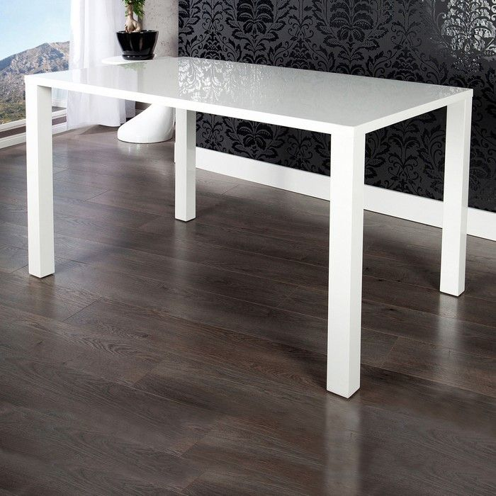 esstisch lucia wei hochglanz 160cm portofrei g nstig kaufen cag onlineshop designerm bel. Black Bedroom Furniture Sets. Home Design Ideas