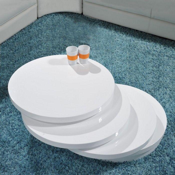 Wohnzimmerschrank modern weiss for Marmortisch rund