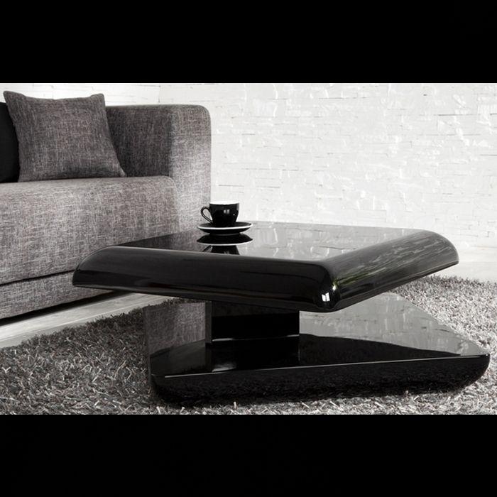 designer couchtisch space schwarz hochglanz high gloss