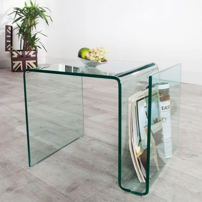 glas beistelltisch mayfair transparent 50cm gnstig portofrei kaufen cag onlineshop designermbel versandkostenfrei kaufen - Glasbeistelltisch