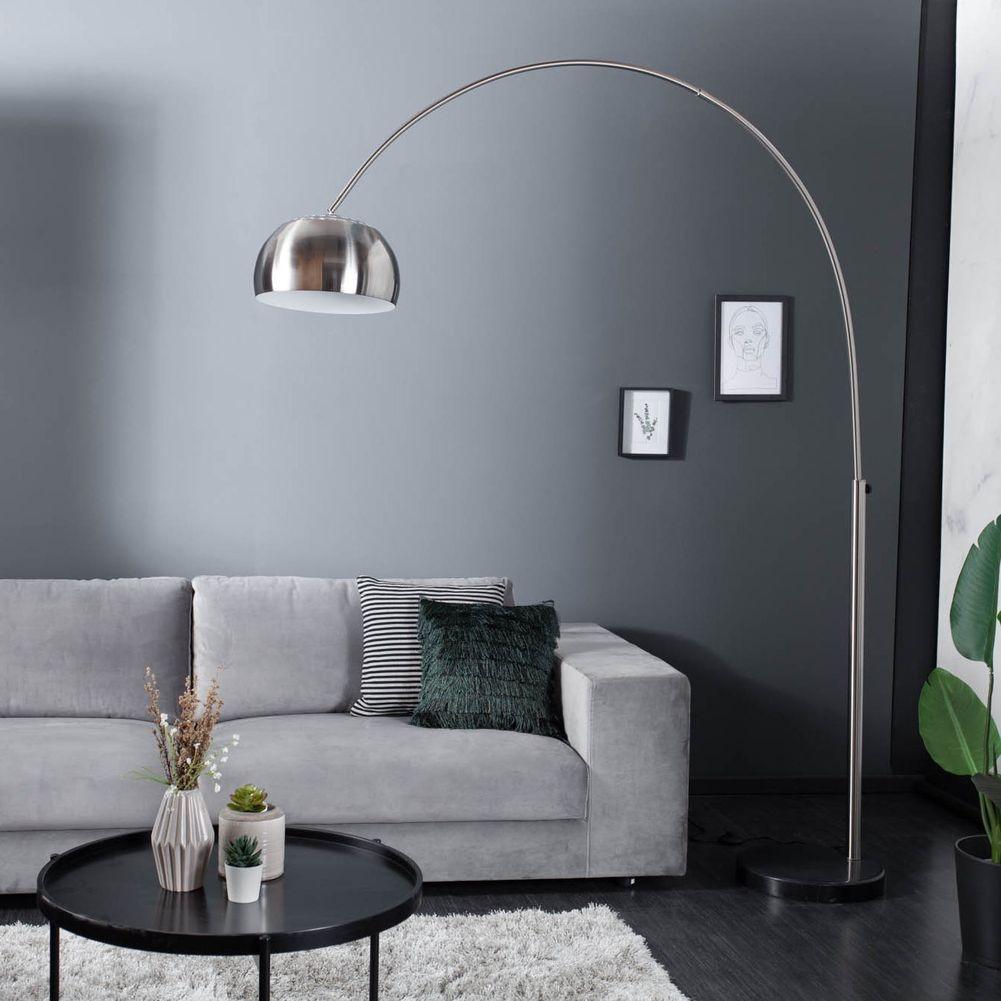 bogenlampe luxx chrom geb rstet 170 210cm h he portofrei g nstig online bestellen cag. Black Bedroom Furniture Sets. Home Design Ideas
