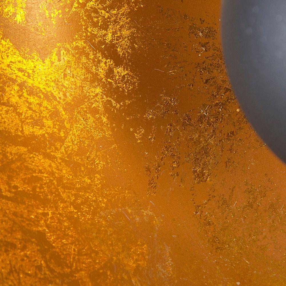 stehlampe spot schwarz gold 160cm h he verstellbar. Black Bedroom Furniture Sets. Home Design Ideas