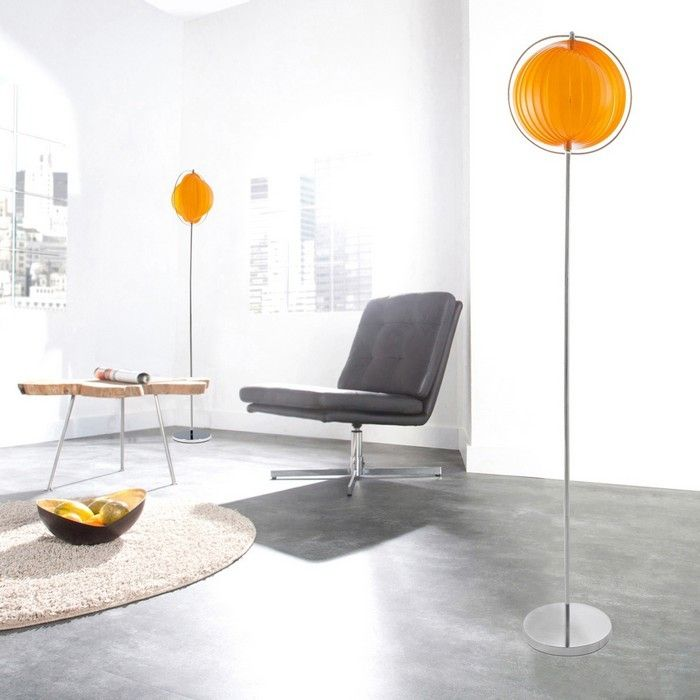 stehlampe bola orange 160cm h he portofrei g nstig online bestellen cag onlineshop. Black Bedroom Furniture Sets. Home Design Ideas