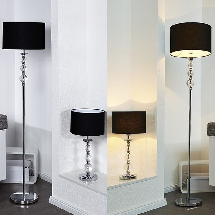 stehlampe chrom with stehlampe chrom manetto move led stehleuchte stehlampe dimmbar acryl. Black Bedroom Furniture Sets. Home Design Ideas