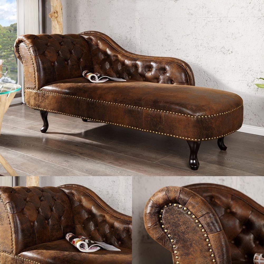 recamiere winchester braun im klassisch englischen. Black Bedroom Furniture Sets. Home Design Ideas
