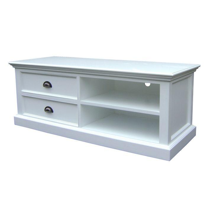 mahagoni tv tisch fernsehtisch josephine antikwei 120 x 45cm im landhausstil cag design m bel. Black Bedroom Furniture Sets. Home Design Ideas