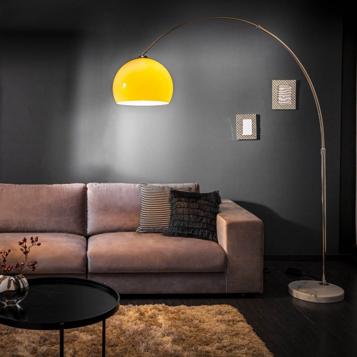 design bogenlampe luxx orange 175 205cm h he portofrei g nstig online bestellen cag onlineshop. Black Bedroom Furniture Sets. Home Design Ideas
