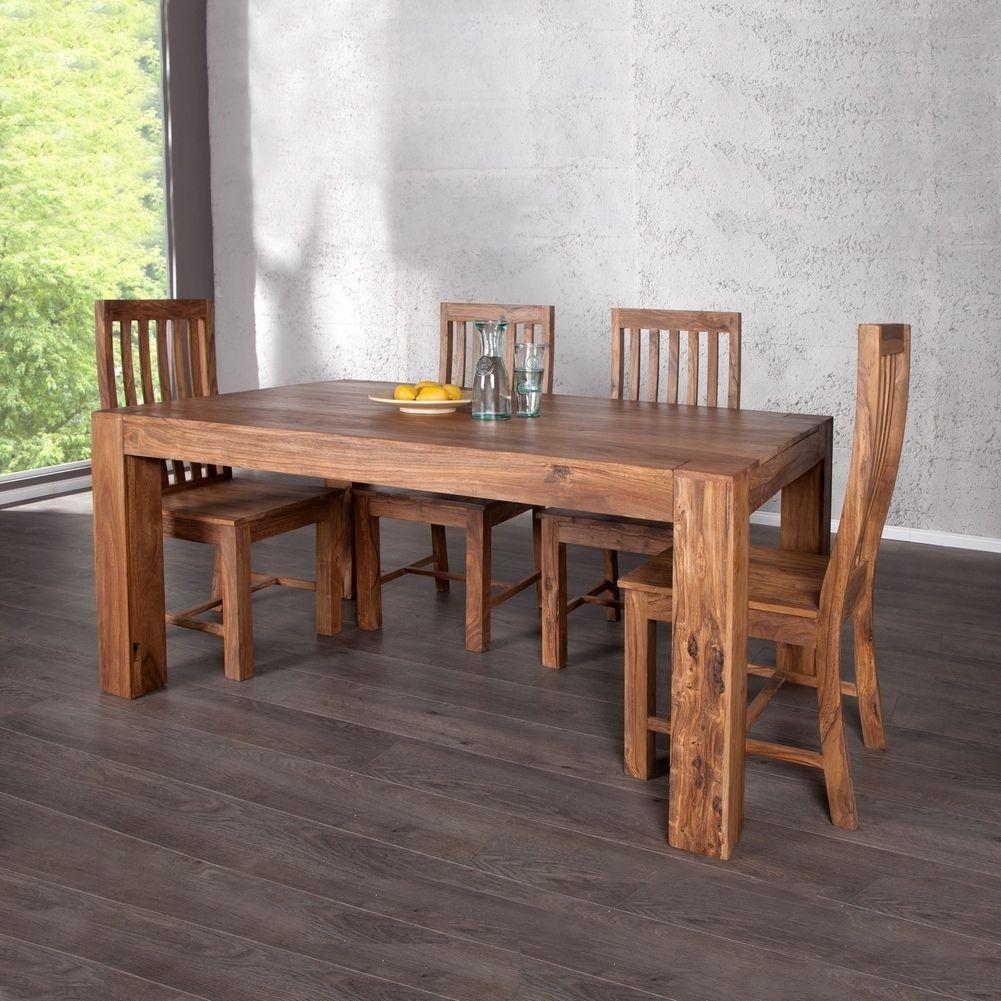 sheesham esstisch design esstisch sheesham palisander pure stone markant finish cm tisch massiv. Black Bedroom Furniture Sets. Home Design Ideas