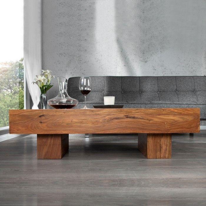 couchtisch salem sheesham massiv gewachst 100cm portofrei. Black Bedroom Furniture Sets. Home Design Ideas