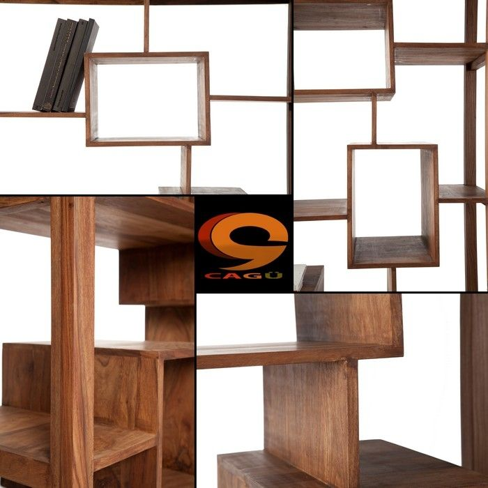 regal b cherregal salem aus sheesham massiv holz gewachst 180cm x 115cm neu ebay. Black Bedroom Furniture Sets. Home Design Ideas
