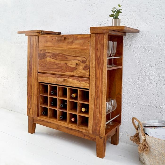 barschrank salem sheesham massiv holz gewachst 85cm x 93cm portofrei kaufen cag onlineshop. Black Bedroom Furniture Sets. Home Design Ideas