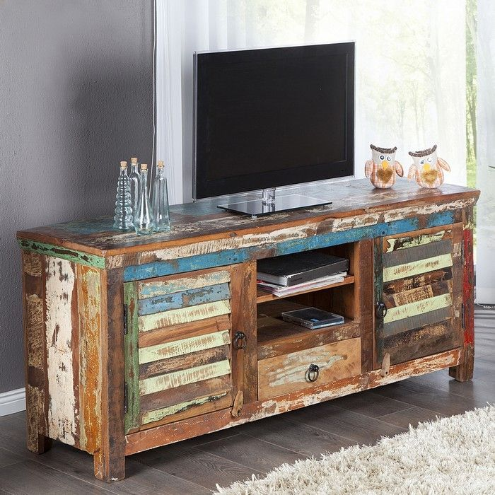 tv tisch borneo aus recyceltem teakholz massiv 150cm portofrei kaufen cag design m bel. Black Bedroom Furniture Sets. Home Design Ideas