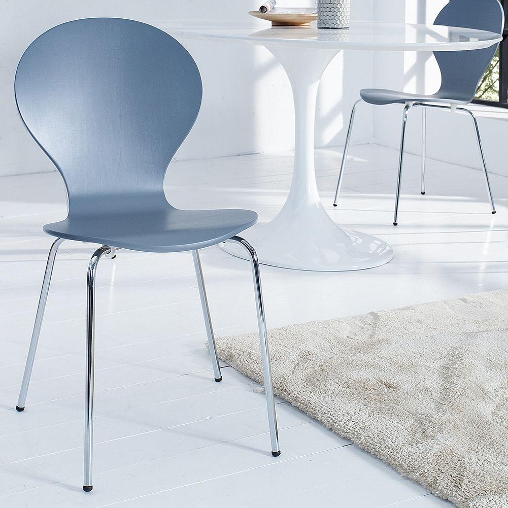retro design klassiker stuhl stapelstuhl holzstuhl jacobsen in 15 farben neu ebay. Black Bedroom Furniture Sets. Home Design Ideas