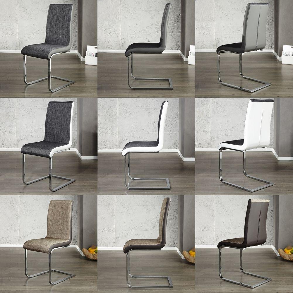 design freischwinger stuhl atlanta anthrazit wei portofrei kaufen cag onlineshop. Black Bedroom Furniture Sets. Home Design Ideas