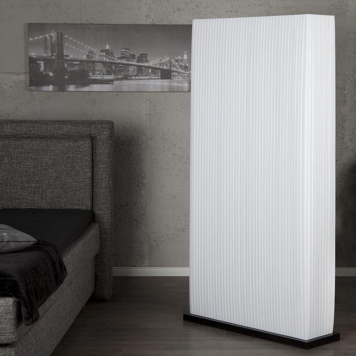 xxl design lounge stehlampe stehleuchte loop weiss mit holzfuss 170cm h he ebay. Black Bedroom Furniture Sets. Home Design Ideas