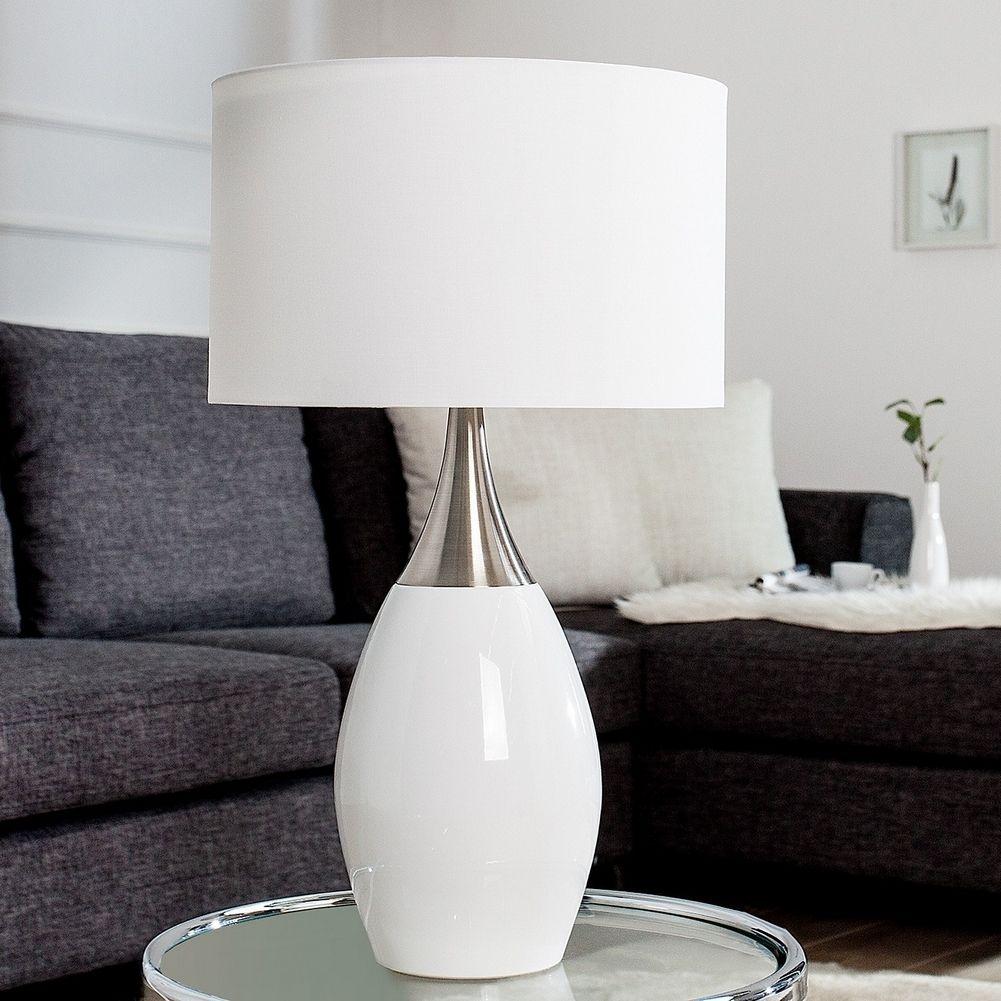 Zeitlos elegante Tischlampe 'ANTJA'