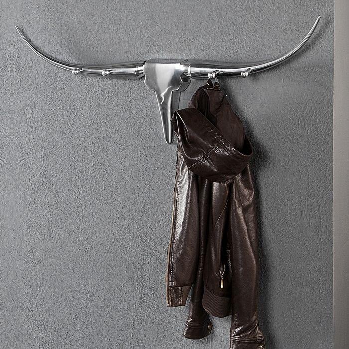 Garderobe Stierkopf-Trophäe