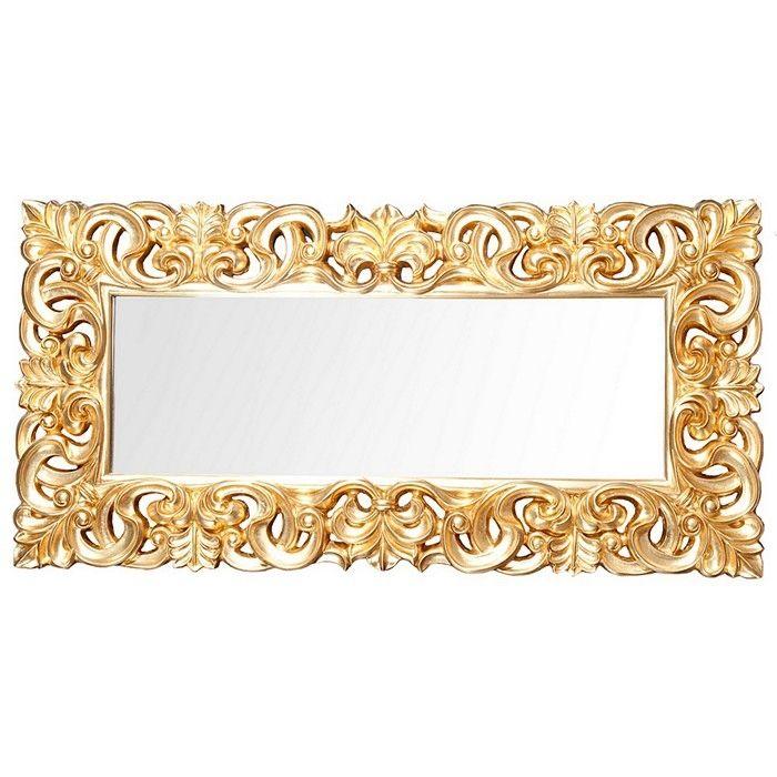 xxl romantischer wandspiegel florence gold antik in barock. Black Bedroom Furniture Sets. Home Design Ideas