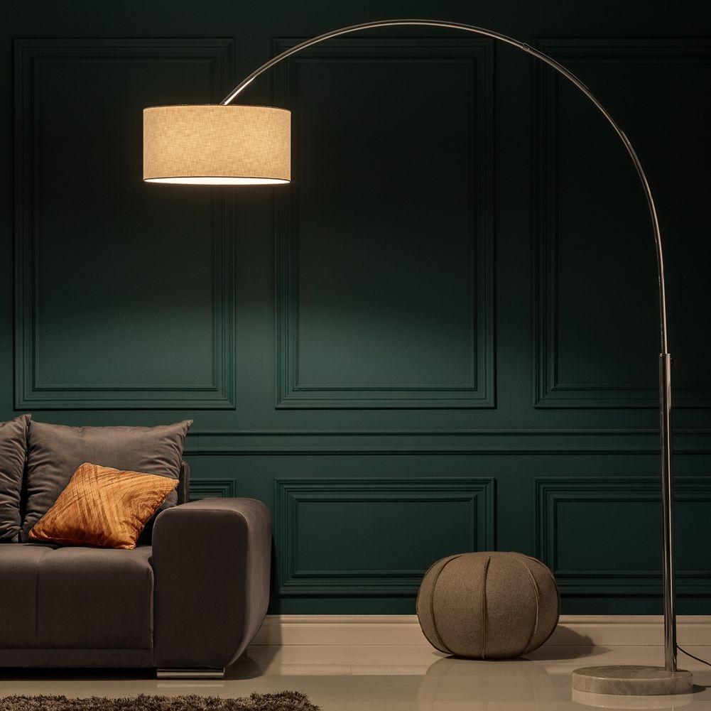 design xl bogenlampe sonor wei mit marmorfu wei 170 200cm h he portofrei g nstig online. Black Bedroom Furniture Sets. Home Design Ideas