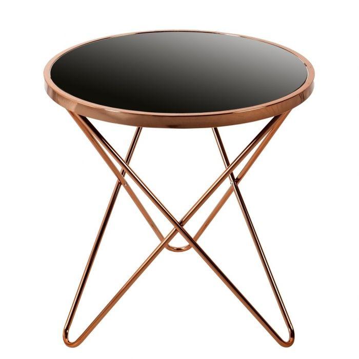Art deco design beistelltisch couchtisch venus kupfer for Beistelltisch designklassiker