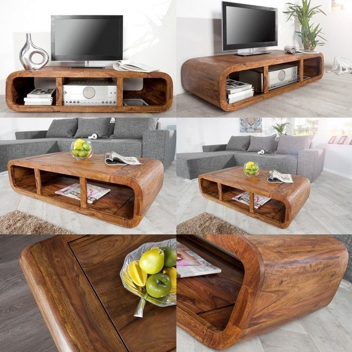 tv tisch daipur sheesham massiv holz gewachst 100cm portofrei g nstig online bestellen cag. Black Bedroom Furniture Sets. Home Design Ideas