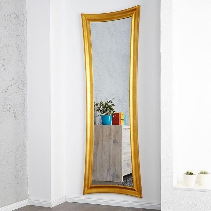 Spiegel in Antikgold