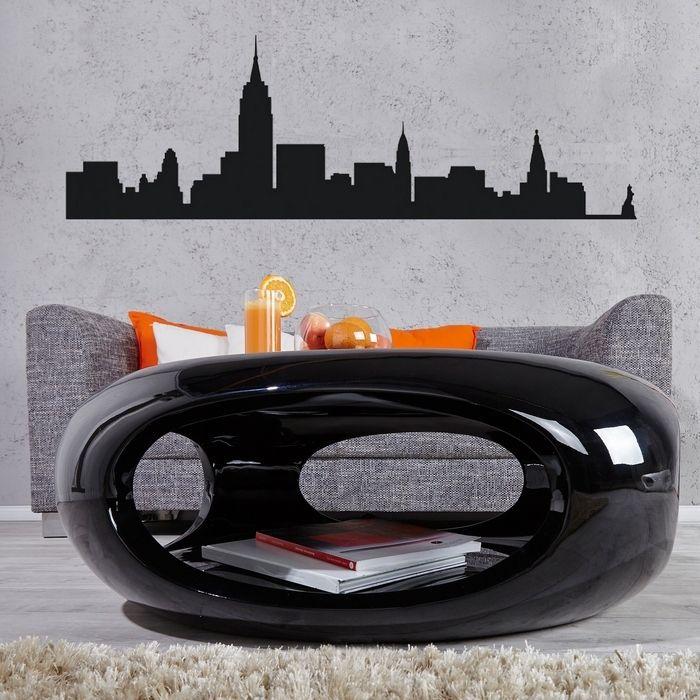 Couchtisch schwarz hochglanz for Design couchtisch acapulco